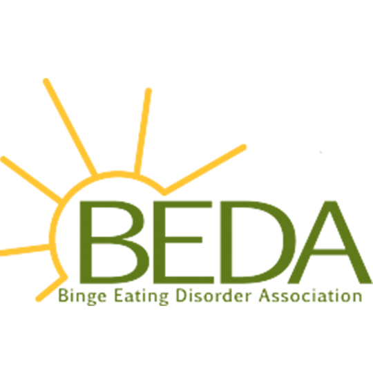 BEDA ( Binge Eating Disorder) Logo